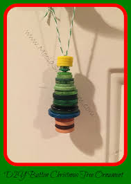 make it mondays button christmas tree ornament moola saving mom