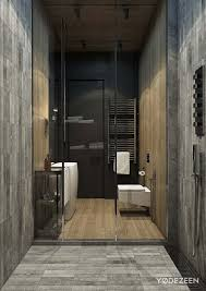 Wood Tile Bathroom Floor by Architecture Small Bathroom Modern Residence By Yodezeen In