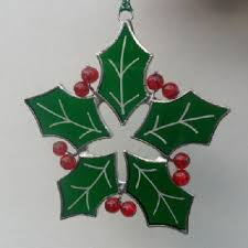 Decoration Christmas Glass by Stain Glass Christmas Patterns Christmas U003e U003e Decorations