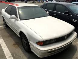 mitsubishi white spotted in china mitsubishi diamante in white carnewschina com