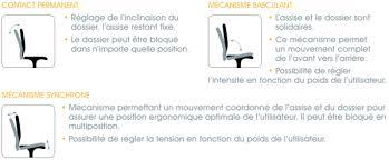 position assise bureau les fauteuils de bureau negostock