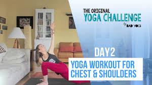 The Original Challenge Original Challenge Day 2 Workout For Chest Shoulders