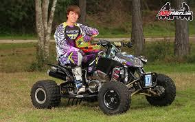 motocross pro riders ama pro atv motocross racer jon venjohn honda 450r atv