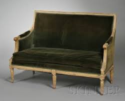 canape louis xvi search all lots skinner auctioneers