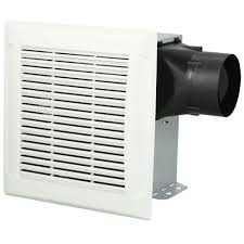 duct free bathroom fan nutone invent white 110 cfm ceiling single speed exhaust bath fan