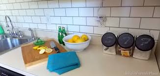 Subway Tiles Backsplash Kitchen Painted Subway Tile Backsplash Remodelaholic