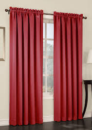 Room Darkening Curtain Rod S Lichtenberg Room Darkening Rod Pocket Panel Plum