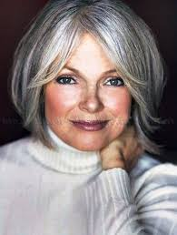 gray hair styles for at 50 hairstyles for round faces gray hair hair