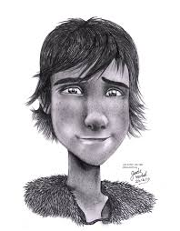 how to train your dragon hiccup pencil drawing by jade viper on