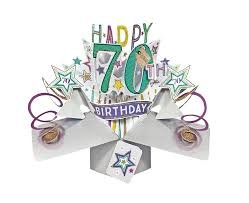 happy 70th birthday pop up greeting card cards love kates