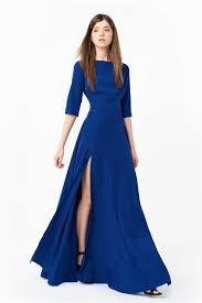 flattering long silk dress at anastasiia ivanova
