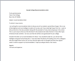 employment recommendation letter u2013 smart letters
