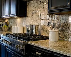 Granite Countertop And Backsplash Houzz - Countertop with backsplash
