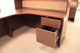 Used L Shaped Desk Used Office Source L Shaped Desk With Hutch Ofw Pittsburgh In Used