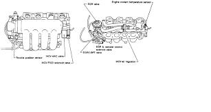 nissan sentra air intake hose 93 nissan sentra se my mechanic regulator vaccum intake manifold
