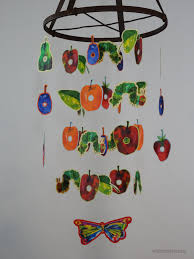 Hungry Caterpillar Nursery Decor The Hungry Caterpillar Nursery Decorative Mobile Bedroom Or