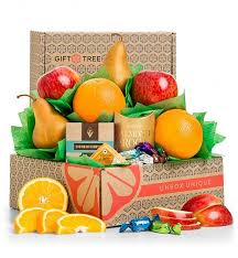 healthy choices fruit gift basket