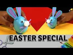 Easter Egg Decorating Ideas Disney by How To Make A Easter Egg Bunny Art And Craft Ideas Easter Egg