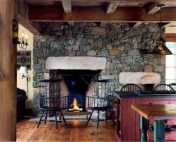 Farm Kitchen Designs Trends Give Your Kitchen A Sizzling Makeover With A Fireplace