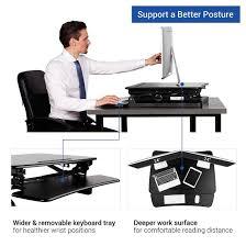 Sit To Stand Desk Converter by Flexispot Standing Desk Converter 27