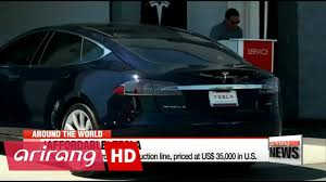 first tesla model 3 rolls off production line priced at 35 000