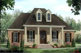 country houseplans acadian style homes a this image shows the front rendering of these