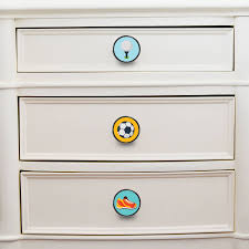 themed door knobs sports themed handles cupboard door knobs by pushka home