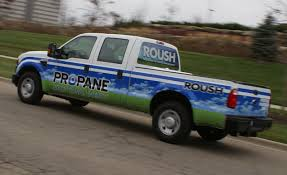 Ford F250 Work Truck - 2009 roush ford f 250 super duty propane quick spin car and driver