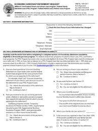 william d ford federal direct loan program econ hardship 1 pdf loan interest