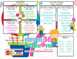 decoration packages eleven36 events cebu