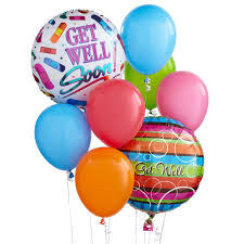 balloons same day delivery get well balloon bunch at send flowers