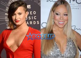 Mariah Carey Meme - demi lovato drags mariah carey to hell for shading jlo ariana