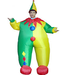 Halloween Blow Costumes Cheap Inflatable Clown Costumes Aliexpress