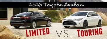 toyota avalon models 2016 toyota avalon touring vs limited models