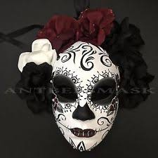 Day Of The Dead Mask Day Of The Dead Masks Ebay