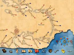Pirates Map Sid Meier U0027s Pirates