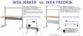 bureau jerker ikea design ideas ikea jerker desk image 182852 audiofanzine desk