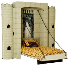 theme wall dragonslayer castle theme wall bed eclectic kids beds