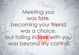 wedding quotes destiny fate quotes meeting you was fate becoming your friend was a