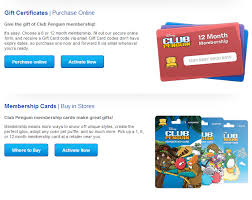 club penguin gift card club penguin membership page gets an overhaul fosters1537 and