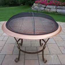 Grill For Fire Pit by Oakland Living Cast Iron Wood Burning Fire Pit U0026 Reviews Wayfair