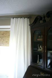 wonderful diy extra long curtains ideas with shower
