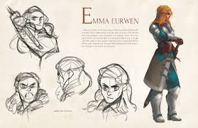 character sheet emma eurwen by charlestanart on deviantart