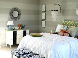 Striped Bedroom Wall by Youtube Diy Room Decor White Black Striped Bed Covers White