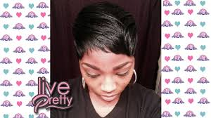 short wraps hairstyle how to mold short pixie cut foam wrap youtube
