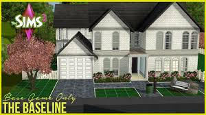 Sims House Ideas The Sims 3 Base Game Only House Part 1 Youtube