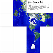 map projections foldable maps