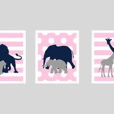 Navy Nursery Decor Best Navy And Pink Nursery Decor Products On Wanelo