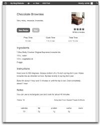 recipe card u2014 wordpress plugins