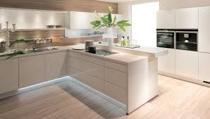 nolte cuisine nolte cuisine alpha lack avec éclairage sous les meubles et